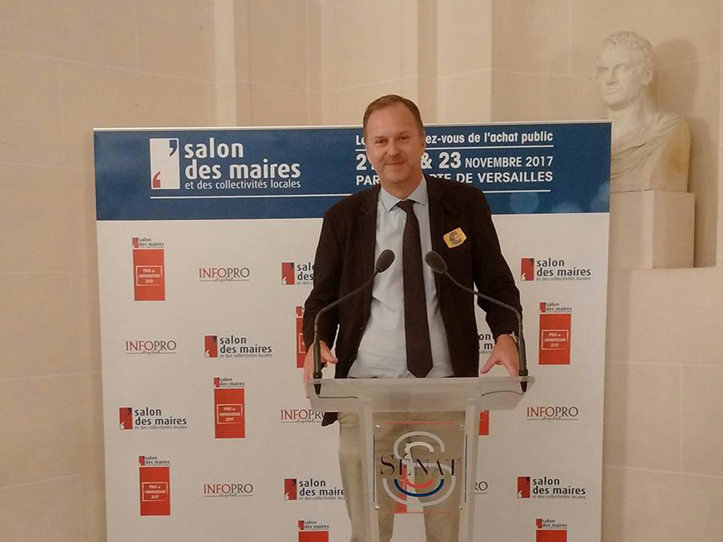 Cooxy remporte le prix de l'innovation au salon des maires