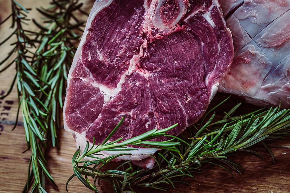 Côte de bœuf marinée au romarin à la plancha cuisinée avec Cooxy