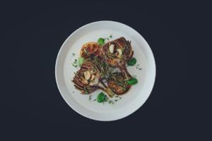 Artichauts poivrades à la plancha cuisinés avec Cooxy