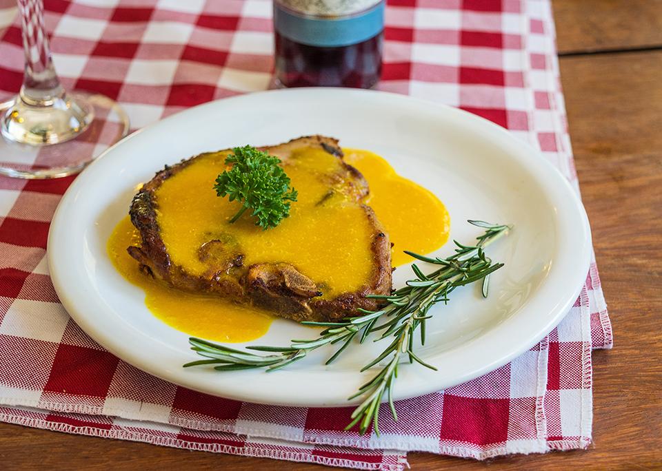 Côtes de veau à la plancha cuisinées avec Cooxy