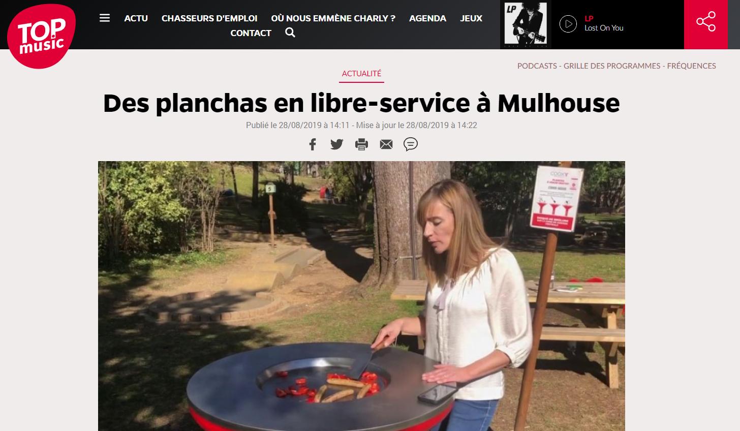 [Revue de presse] 3 cooxy à Mulhouse, on est parle sur TopMusic
