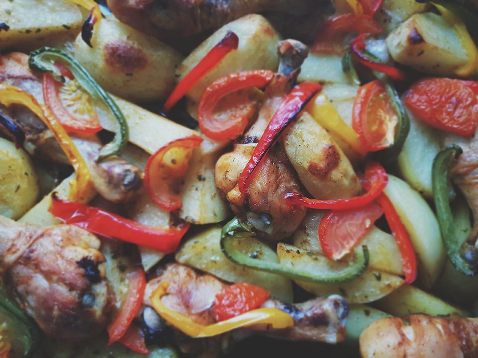 Légumes du soleil façon ratatouille cuisinés avec Cooxy