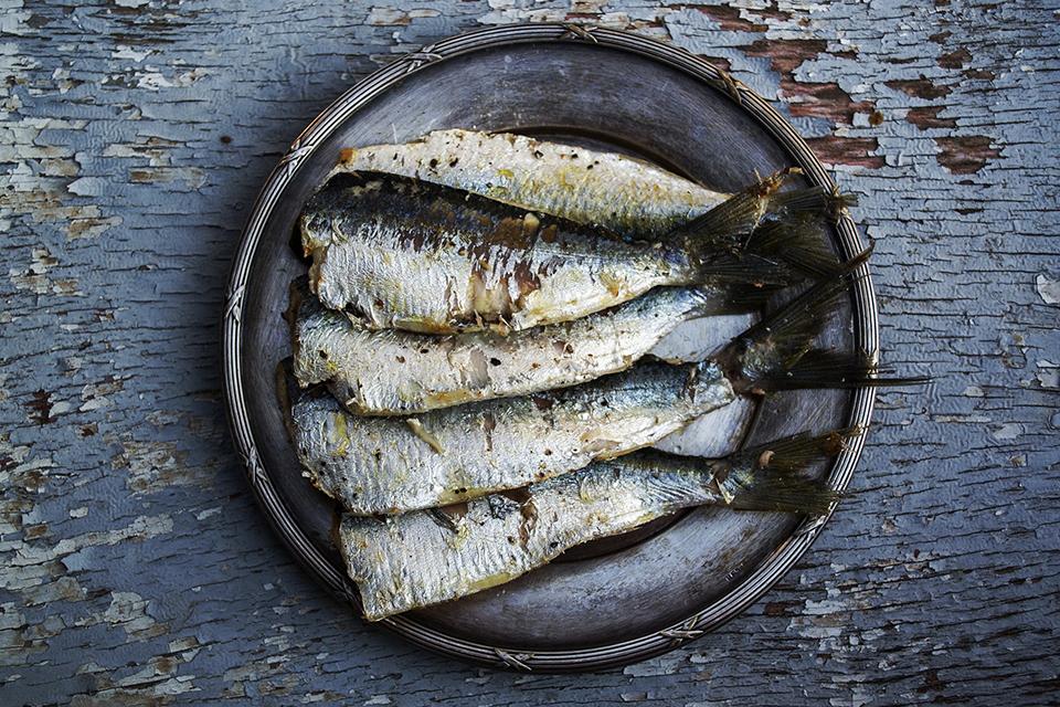 Sardines marinées à la plancha cuisinées avec Cooxy